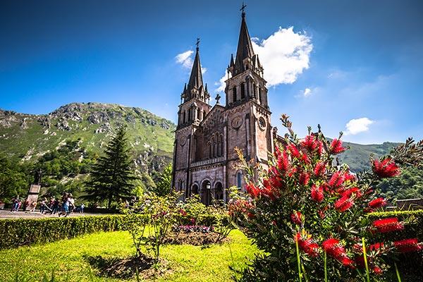 basilica de la virgen de covadonga
